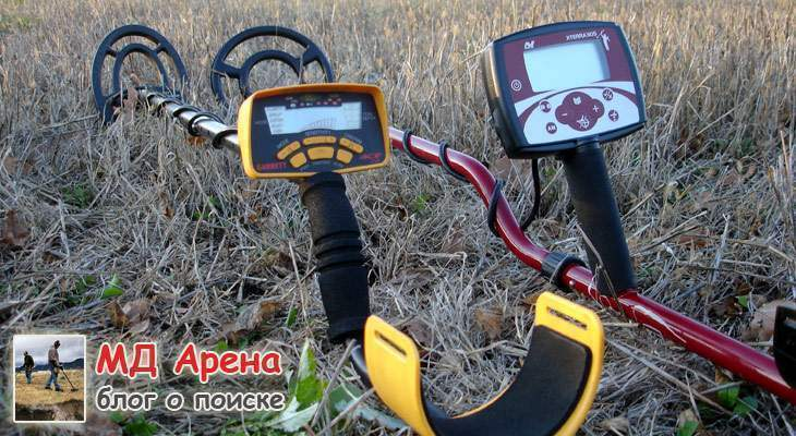 Металлоискатели Minelab X-Terra 305 на фоне Garrett ACE 250