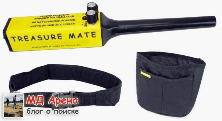 Treasure Mate Tesoro Pinpointer