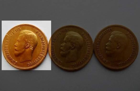 Находка золотые монеты