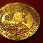Пара золотых монет на удачу копателя (дорогие)