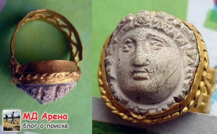 Римский (или Греческий Золотой Перстень) - $1638