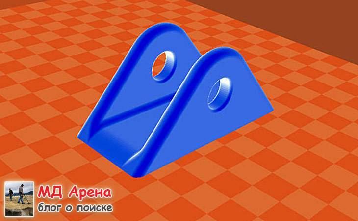 Ремонт катушки на 3D принтере (ремкомплект уши)