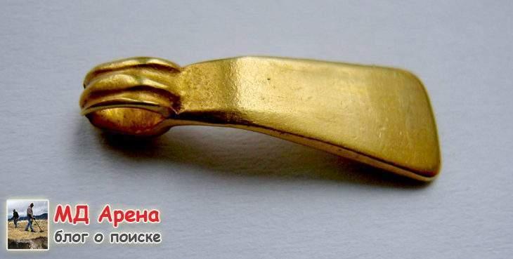 Бронзовый меч 14 века до н.э.+ золото. Альфонсы Фортуны