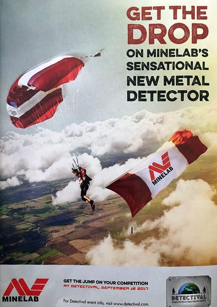 16 сентября 2017 Minelab покажет новый металлоискатель