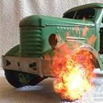 Игрушка грузовик лесовоз $1540. Дорогие артефакты