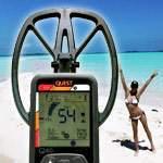 Тест Quest Q40 на морскую соль (соленый пляж и море)