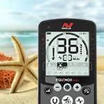 Тест Minelab Equinox 800 на соль (песок, морская вода)