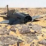 Находка самолет ВОВ в пустыни. Оцените сохран!