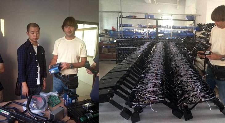 китайское производство Minelab