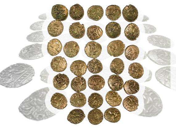 Находки с металлоискателем золото