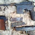Военные находки на чердаке. Фото