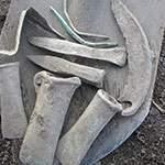 Клад бронзового инструмента. Фото