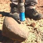 Как искать метеорит палкой (бомж стайл!). Видео