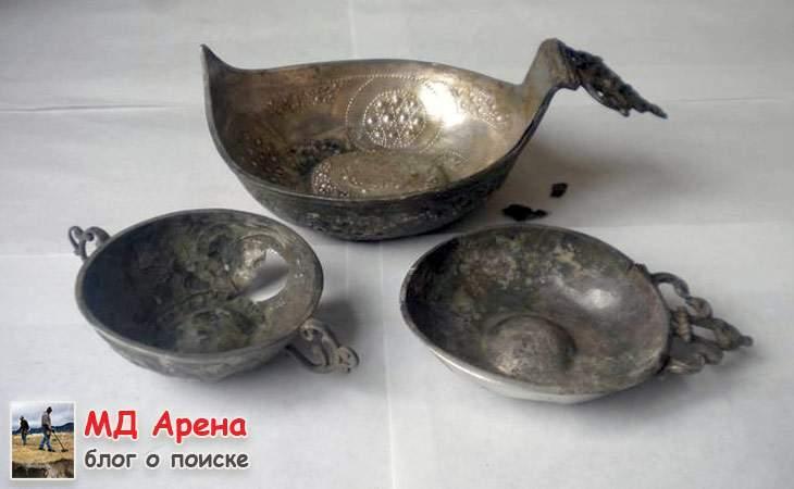 Серебренная посуда казацкого периода - $2219