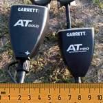 Сравнение Garrett AT Gold и Garrett AT PRO. Тест глубины