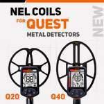 Катушки Nel для Quest Q20 и Quest Q40. Новинка 2018