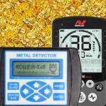 Сравнение Minelab Equinox 800 и Кощей X45. Тест на золото