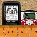 Сравнение Quest PRO и Minelab X-Terra 505. Тест глубины в грунте