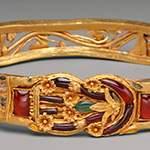 Дивный золотой Браслет с узлом Геракла. Возраст 2300 лет