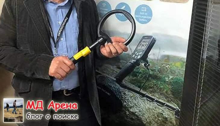Большая катушка для Nokta PulseDive (первое фото). Новинка 2020